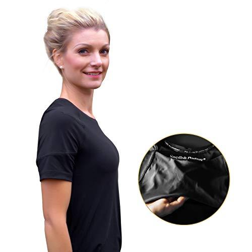 Swedish Posture® Reminder T-Shirt bessere Körperhaltung | weniger...