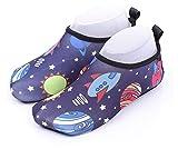 Zapatillas de agua para niños pequeños Non-Slip Beach Zapatos a la deriva Snorkeling Wading y Secado rápido Calcetines de la playa Zapatos de natación para niños al aire libre zapatos de playa