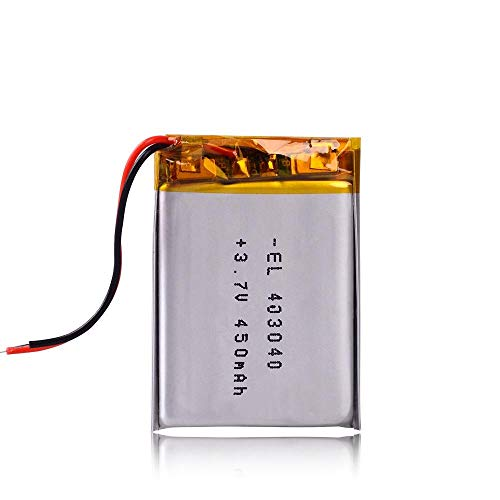 Dilezhiwanjuwu Batería de polímero de Litio de 3,7 V 403040 450 mAh MP3 MP4 GPS Bluetooth DVR Reproductor xduoo X2 DVR G1W dashcam Registrador