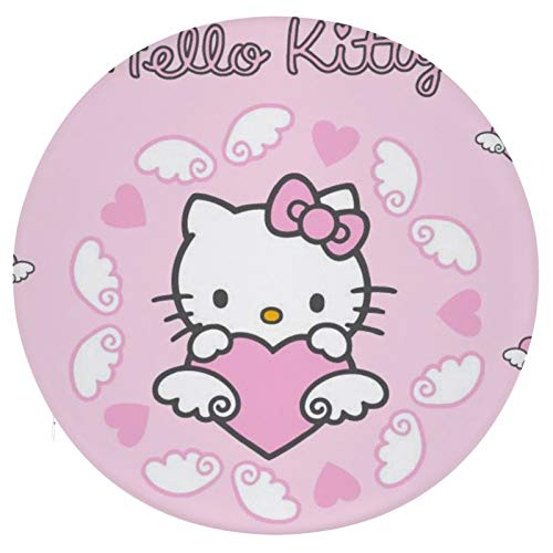 Cojín Cojín de Asiento de Espuma viscoelástica Redondo Hello Kitty 35 Cojín súper Acogedor Cojín Suave para Interior