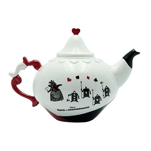 Alice im Wunderland Teekanne Frauen Teekanne Standard Porzellan Disney, Fan-Merch, Film