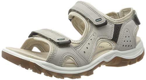 ECCO Damen Offroad Lite Flat Sandal, Beige(Moon Rock), 42 EU