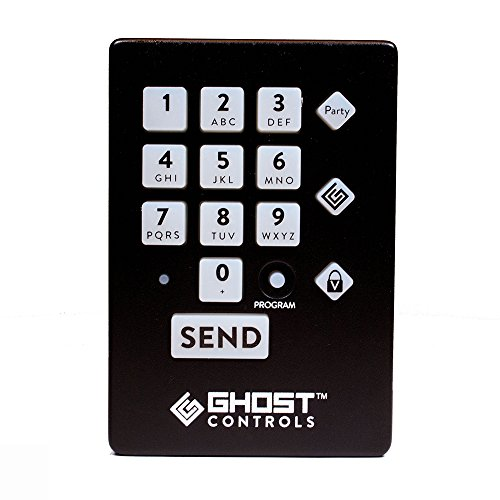 Ghost Controls AXWK Premium Wireless Keypad for Automatic Driveway Gate Opener Systems