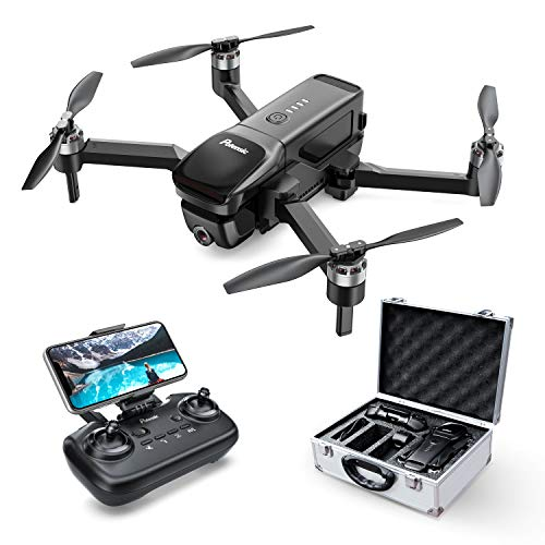 Potensic D68 Drones with Camera for Adults 4K FHD, Foldable GPS FPV Drone for Beginner, Quadcopter with Brushless Motor, Auto Return Home, Follow Me, 25 Mins Flight Time, Includes Carrying Case