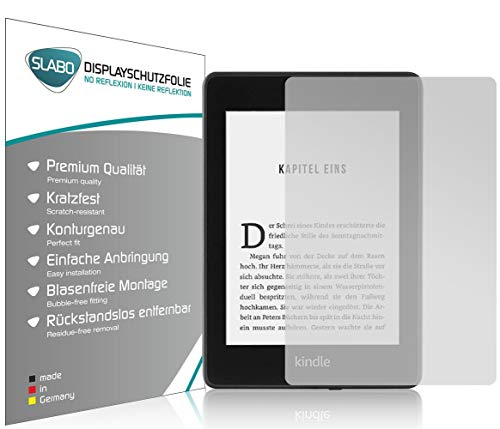 Slabo 2 x Displayschutzfolie für Kindle Paperwhite 2018 (10. Generation)...