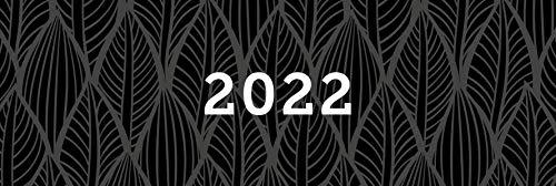 Tischkalender 2022, Querkalender Querterminbuch 2022, 1 Woche/ 1 Seite, 64 Seiten, 297 x 130 mm, Quer, Terminkalender, Karton, Jahresübersicht 2022/2023 inkl. Adress-Notizseiten, Wire-O-Bindung