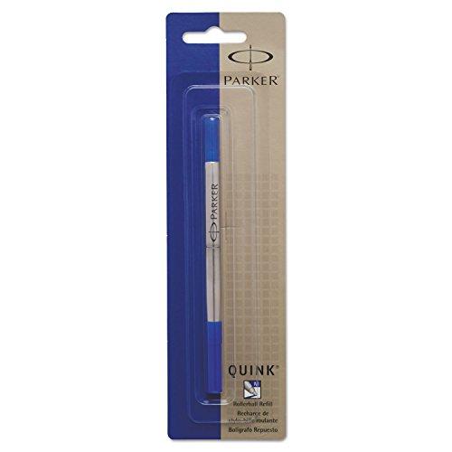 Parker 3022531 Refill for Roller Ball Pens, Medium, Blue Ink