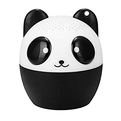 XZYP Mini Bluetooth Animal Wireless Speaker, Panda Portable bluetooth speakers with Powerful Rich Room-filling Sound - 3W audio driver - Remote Selfie Function - for Phone/Tablets from XZYP