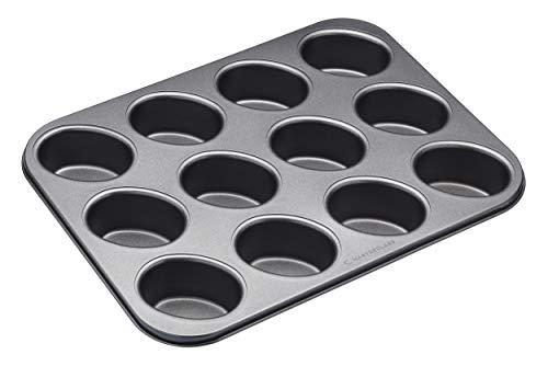 Kitchencraft Masterclass Non Stick 12 Hole Friand Cake Pan Mold KCMCHB88