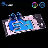 Full-Cover GPU Block Water Block G1/4' Waterblock Liquid Cooler RGB LED for Computer Graphic Card Gigabyte GTX 1080Ti Gaming OC 11G