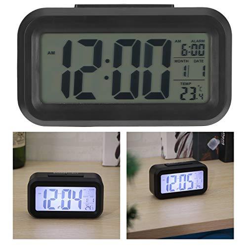 Gaeirt Despertador Digital LED, Reloj de Escritorio Reloj Digital LED para el hogar