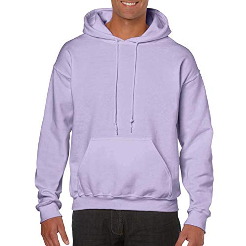 Gildan Heavy Blend Adult Unisex Hooded Sweatshirt/Hoodie (2XL) (Orchid)