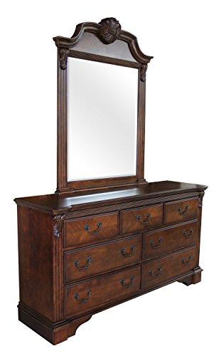Mousas Gallery Console con specchio, Baroque, Classic, Louis Kenz, realizzata a mano al 100%
