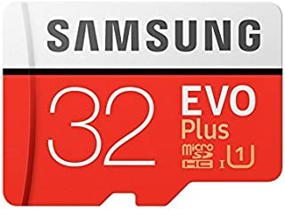 Samsung EVO Plus Grade 1, Class 10 32GB MicroSDHC 95 MB/S Memory Card with SD Adapter (MB-MC32GA/IN)