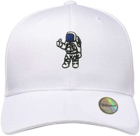 Valueon Space hat Astronaut Hat Spaceman Baseball Caps for Men Women Embroidered dad Hats for Design Adjustable