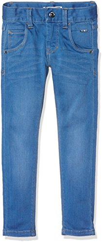 NAME IT Jungen NITCLAS XSL DNM Pant NMT NOOS Jeanshose, Blau (Medium Blue Denim), 122