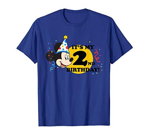 Disney Mickey Mouse 2nd Birthday T-Shirt