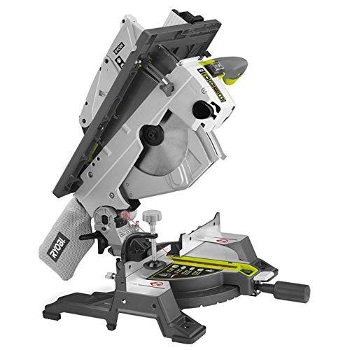 Ryobi Kapp-, Gehrungs- und Tischkreissäge RTMS1800-G, 1800 W, 230V, Staubfangsack, integriertes Absaugsystem, Laserschnittanzeige, Sicherheitsschalter, Art.-Nr. 5133002152
