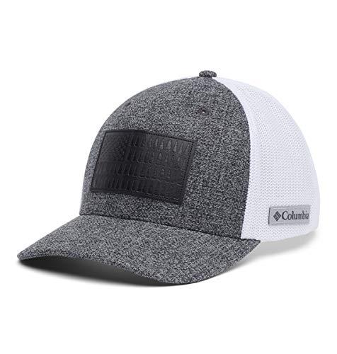Columbia Herren Rugged Outdoor Mesh Hat Baseball Cap, Grill Heide/Weiß/Baumflagge, X-Large