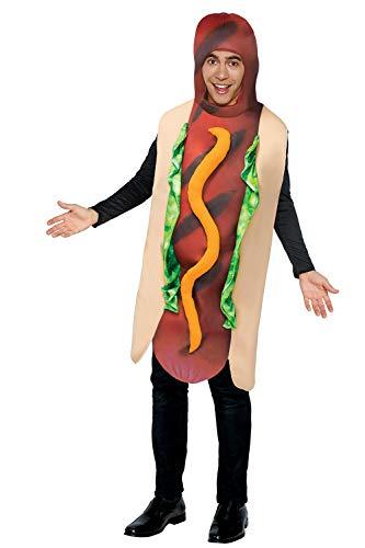 YT Electronic Shop - Disfraz de perro caliente para adultos, para cosplay, fiesta temtica
