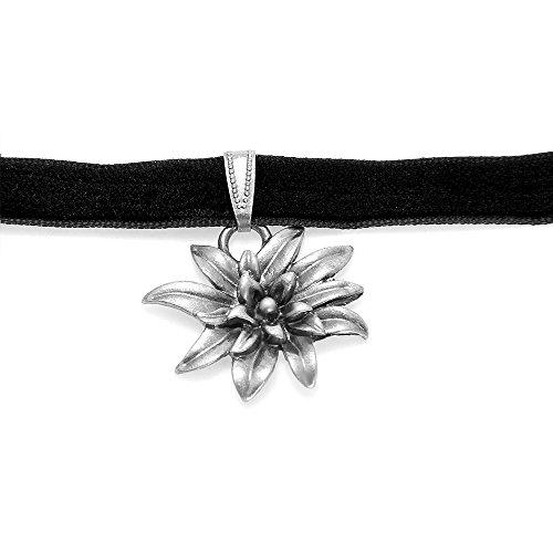 Foxpic ciondolo a forma di stella alpina in stile punk retrò per bracciale, collana, orecchini, braccialetto.