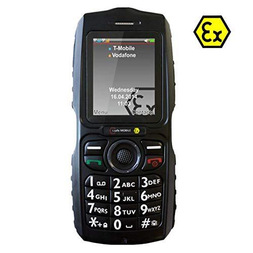 i.safe MOBILE Challenger 2.0 Ex-geschütztes Handy Ex Zone 2, 22 5.1cm (2 Zoll) IP68, Wasserdicht, S