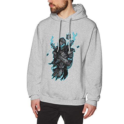Herren Pullover Lässig Langarm Hoodie Sweatshirts Destiny Cayde 6 Spicy Ramen Bedrucktes Kapuzen Sweatshirt Bequem