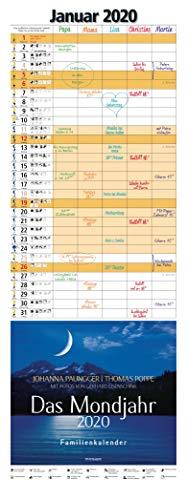 Das Mondjahr 2020: Familienkalender - Mit Fotos von Gerhard Eisenschink - Das Original
