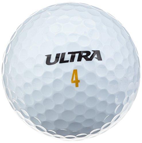 Wilson ULTRA ULTDIS Balles de golf Lot de 24 Blanc