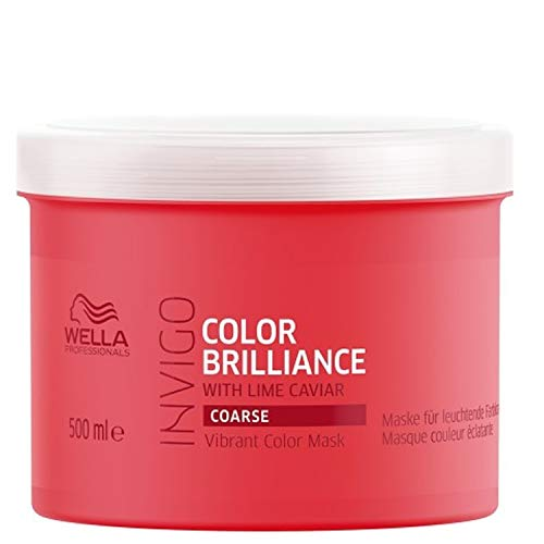 Wella Professionals Invigo Color Brilliance Vibrant Color Mask Coarse, 500 ml