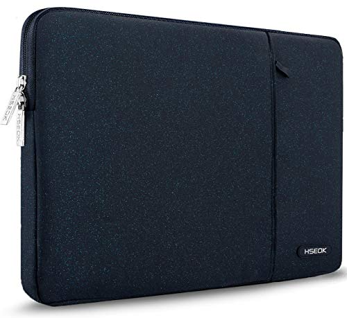 HSEOK 15,6 Zoll Laptop Hülle Tasche,Stoßfeste Wasserdicht PC Sleeve kompatibel mit die meisten 15,6 Zoll Laptops Dell/HP/Lenovo/Acer/Ausu,Blauer Punkt.