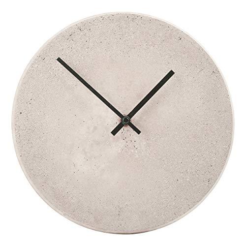CREATE! by OBI DIY Wanduhr | Dekorative Uhr aus Beton zum Selberbauen (Hinweis: Farbe im Set Nicht enthalten)