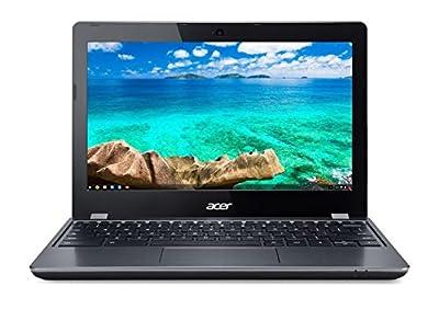 Acer Chromebook 11.6in Intel Celeron Dual-Core 1.5 GHz 4 GB Ram 16GB SSD Chrome OS C740-C4PE (Renewed)