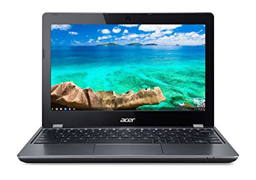 Acer Chromebook 11.6in Intel Celeron Dual-Core 1.5 GHz 4 GB Ram 16GB SSD Chrome OS|C740-C4PE (Renewed)