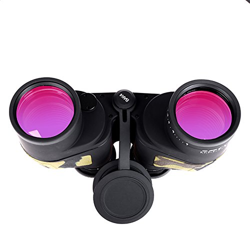 WSHA Binoculares 10X50 Profesional De Alta Calidad Zoom Telémetro Binoculares Poder Militar Telescopio Prismáticos Prisma De Bajo Nivel De Luz Visión Nocturna para La Caza