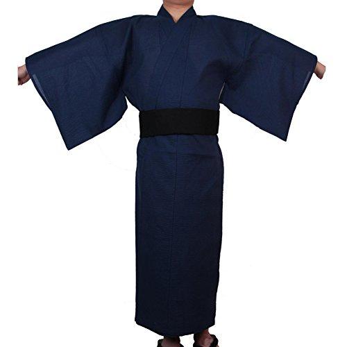 Fancy Pumpkin Kimono japonés de Yukata japonés para Hombres Vestido de Pijamas japonés para el tocador Home # 05