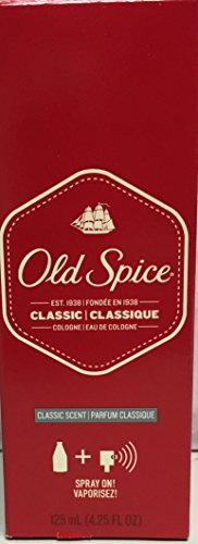 OLD SPICE COLOGNE CLASSIC 1075 4.25oz by PROCTER & GAMBLE DIST. ***