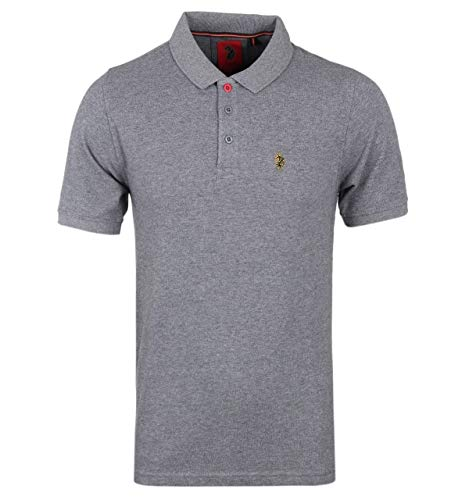 Luke 1977 Williams Polo in piqué Grigio Scuro