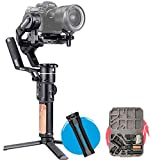 <span class='highlight'>FeiyuTech</span> AK2000S Professional 3-<span class='highlight'>Axis</span> Gimbal Stabilizer, Ergonomic Handle Included for Mirrorless/DSLR Such as Canon 6D 5D Mark Nikon D500 D7500 Sony A9 A7R2 A6500 A7R3