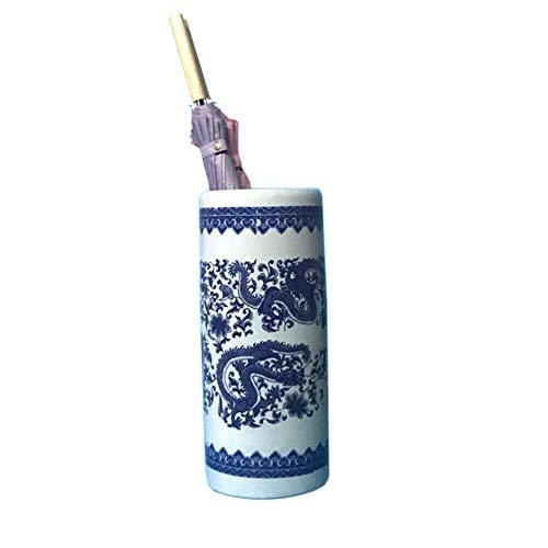 LIUGUANJIANG Portaombrelli Secchiello per ombrelli Stile Cinese Arte Cinese in Ceramica Secchio portaombrelli ombrelli Domestici Secchio Raccolta barile portaombrelli Secchio Doccia Finitura
