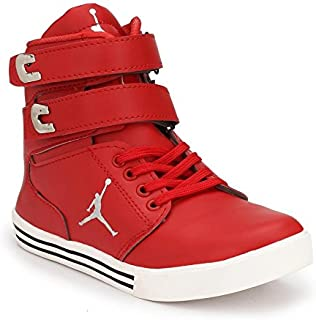 17b4dddac0 Red Men's Sneakers: Buy Red Men's Sneakers online at best prices in ...
