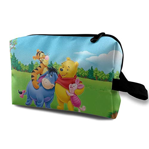 Winnie The Pooh Cosmetic Bag for Women Large Capacity Make up Bags Travel Toiletry Bag Accessories Organizer