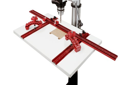 Great Price! Woodpeckers WPDPPACK2 Drill Press Table with 2 Knuckle Clamps