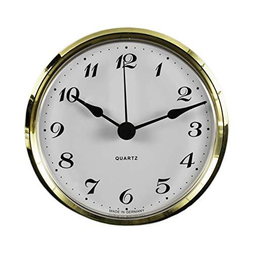 Cloxinelle Uhrwerk   Einsteckuhrwerk   Einbau-Uhr   Modellbau-Uhr   Quartz Uhrwerk Ø 103 mm   Nr.8080