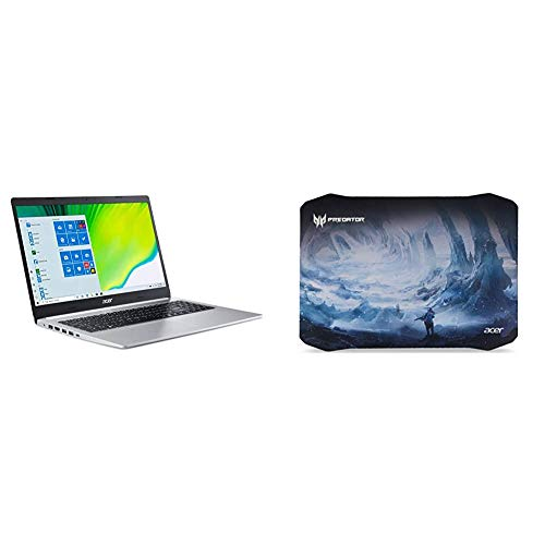 Acer Aspire 5 A515-44-R2SA, 15.6' Full HD, AMD Ryzen 7 4700U Octa-Core Mobile Processor with Acer Predator Ice Tunnel Mousepad