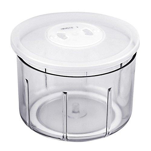 Fissler 0105100065 Becher Ersatzteil Behälter und Deckel Finecut, 14 x 14 x 9,5 cm, 0,9 Liter