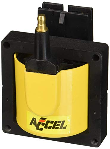 ACCEL 140012 EEC-IV Supercoil, Yellow