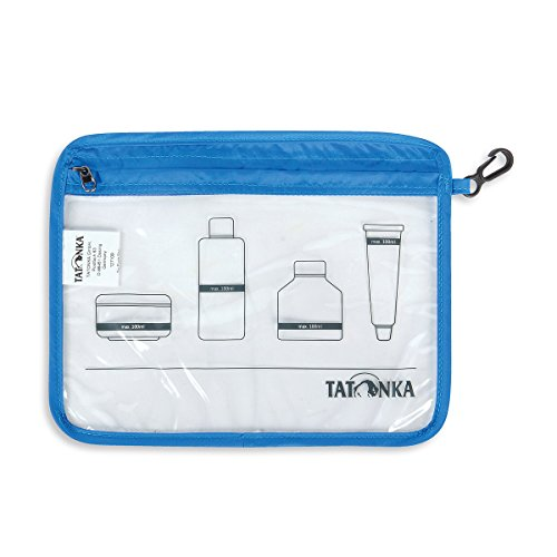 Tatonka Beutel Zip Flight Bag, transparent, 22 x 17,5 cm