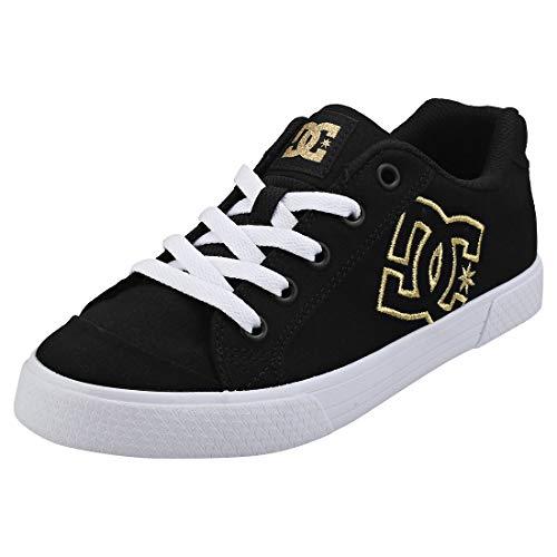 DC SHOES CHELSEA TX Sneakers dames Zwart/Goud Lage sneakers
