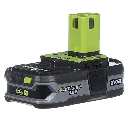 Ryobi P107 18V One+ Compact Lithium+ Battery, 5.71 ' x 7.16 ' x 3.39'